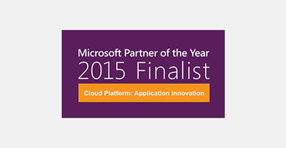 Orckestra recognized as finalist for 2015 Microsoft Cloud Platform: Application Innovation Partner of the Year award.