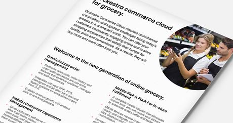 Orckestra Commerce Cloud for Grocery