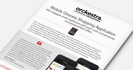 IGA: Mobile Grocery Shopping Application