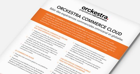 Orckestra Commerce Cloud