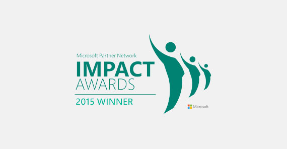 Orckestra's Commerce Orchestration platform takes home the Microsoft 2015 Impact Award for Enterprise Public Cloud Innovation