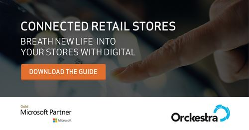 Connected retail stores. Breath new life into your stores with digital. Download the guide!
